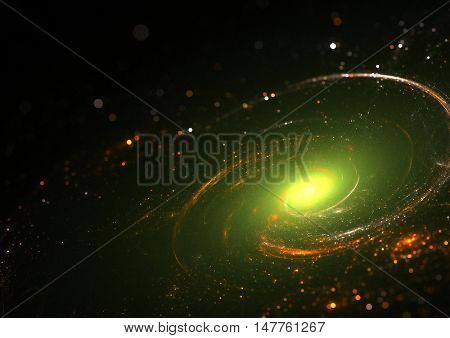 Abstract star field galaxy background texture