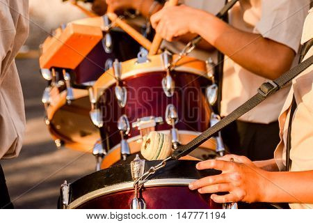 Photo Picture Of Barrel Drum Band