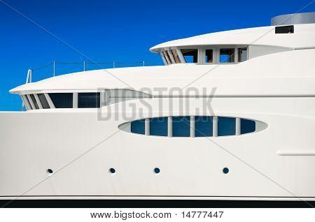 Luxury mega yacht
