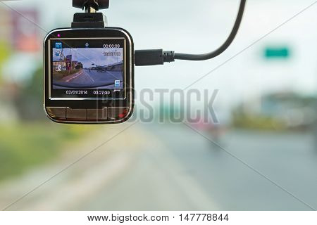 Front camera car recorder / Car DVR Vehicle