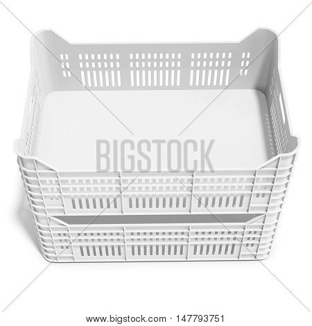 3D Stack Of Plastic Crates
