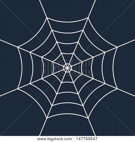 Vector White Cobweb
