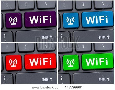 Free Internet Access Concept