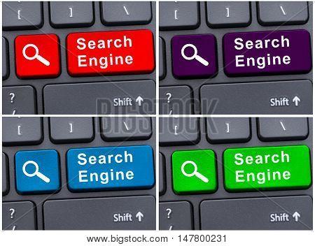 Internet Search Engine Button