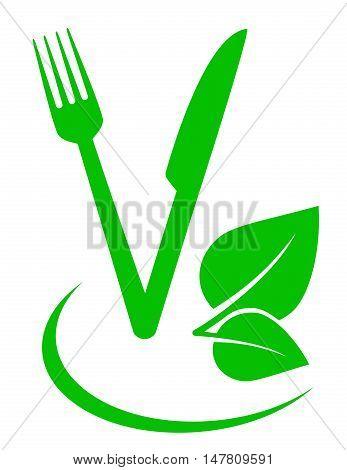 Vegetarian Food Sign