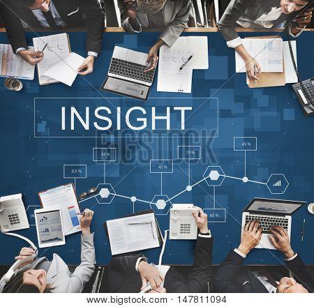 Business Insight Statistics Analytics Development Concept