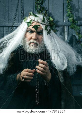Zeus Bearded Man
