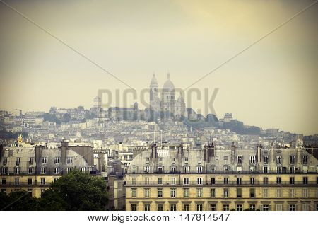 Large View Of Paris, France