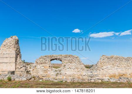 Ancient City Chersonese, Ruins Of Basilica 1935 Vi-x C. , Sevastopol, Crimea, Russia