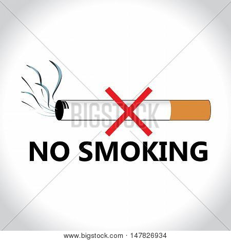 Cigarette smoking is injurious to health. No smoking banner.