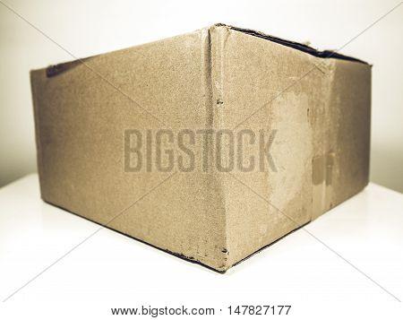 Vintage Looking Brown Packet Parcel