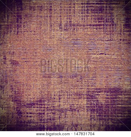 Stylish grunge texture, old damaged background. With different color patterns: brown; red (orange); purple (violet); pink