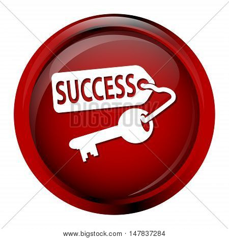 Key icon Key and success icon vector illustration
