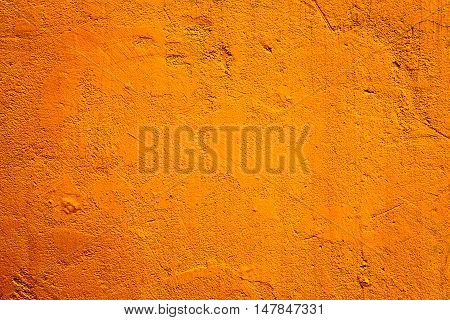 Orange wall background. Orange wall texture. Orange wall.