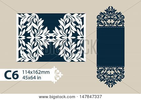 The layout of the cards in three additions. The template is suitable for greeting cards invitations etc. The picture suitable for laser cutting or printing. Vector