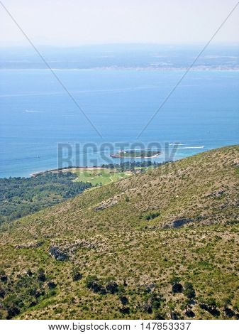 Bay Of Alcudia, Majorca, Spain
