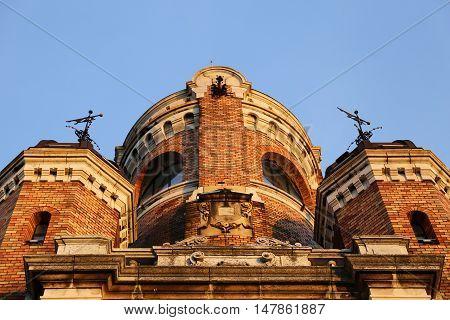 Gardosh Tower(Millennium Tower) in old town Zemun, part of Belgrade, Serbia