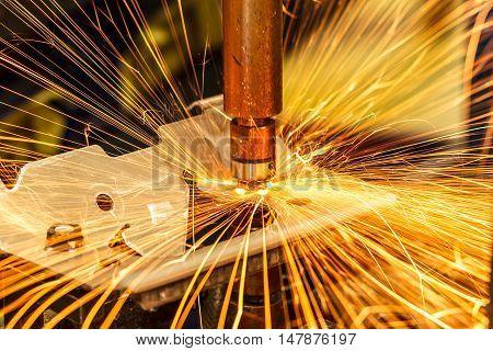 The Industrial spot nut welding automotive in thailand