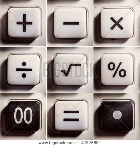 Mathematical Operations As Buttons