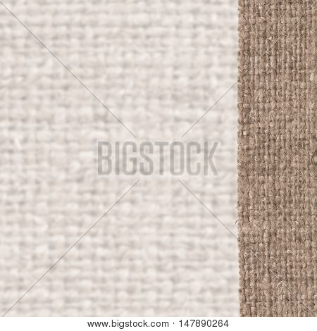 Textile tarpaulin fabric element sandy canvas wallpaper material natural background
