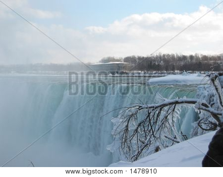 Rushing Water Over Nagara Falls