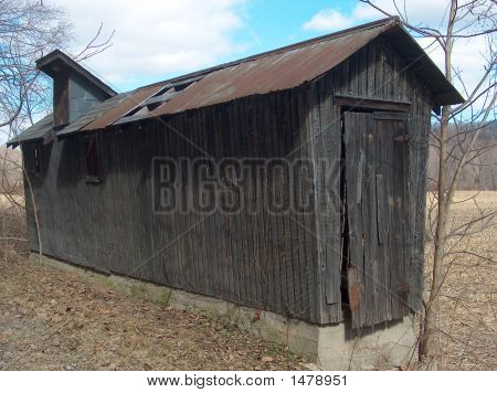 Rustic Corn Crib