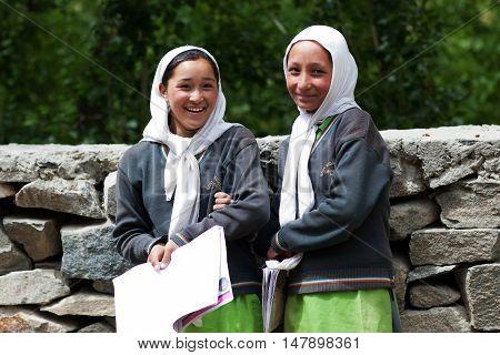 Muslim Girls, India
