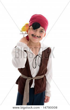 Smiling Pirate Boy
