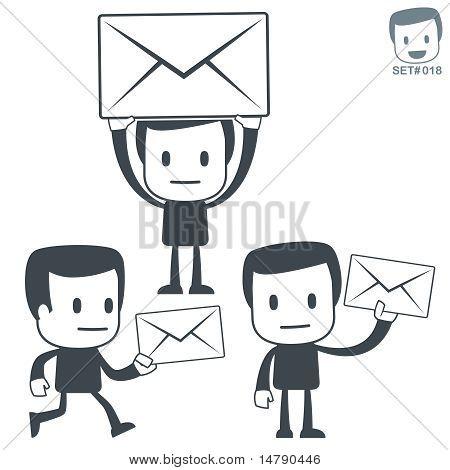 Postman. Icon man.