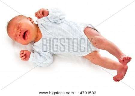 Cry Newborn Baby