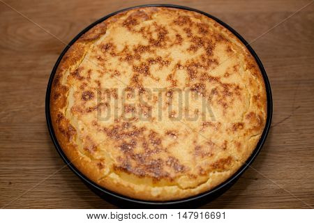 Cheesecake With Brown Crust