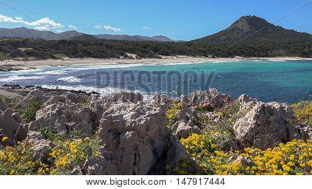 View of the beach - Cala Ratjada, Mallorca