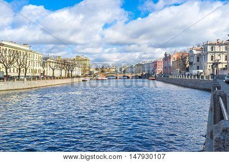 The best way to discover St Petersburg is to walk along its rivers and enjoy its magnificent architecture Russia.