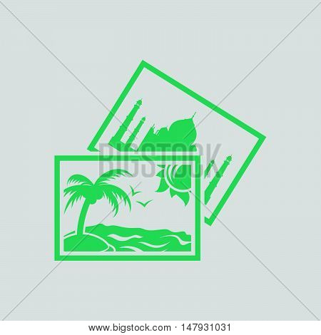 Two Travel Photograph Icon