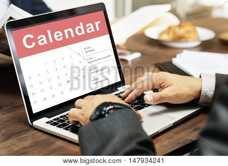 Calendar Appointment Meeting Date Concept
