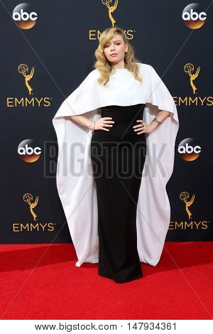 LOS ANGELES - SEP 18:  Natasha Lyonne at the 2016 Primetime Emmy Awards - Arrivals at the Microsoft Theater on September 18, 2016 in Los Angeles, CA