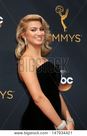 LOS ANGELES - SEP 18:  Tori Kelly at the 2016 Primetime Emmy Awards - Arrivals at the Microsoft Theater on September 18, 2016 in Los Angeles, CA