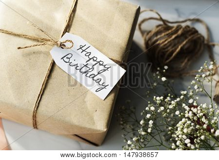 HBD Happy Birthday Celebration Congratulation Party Concept