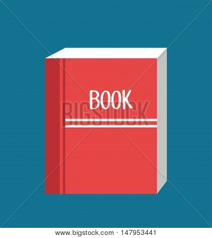 icon book read design vector illustration eps 10