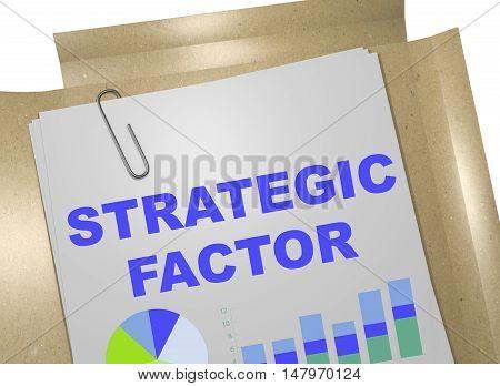 Strategic Factor Concept