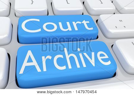 Court Archive Concept