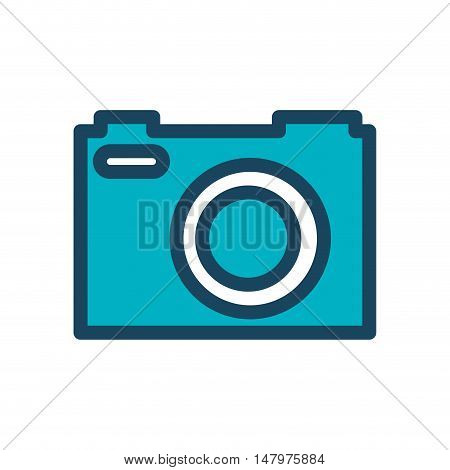 camera photography retro desing isolated vector illustration eps 10