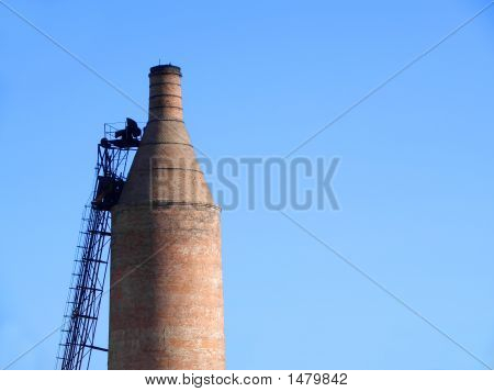 Drying Kiln Smokestack