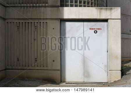 Emergency Stairwell Access
