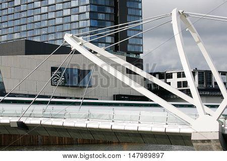 Seafarers Bridge Over The Yarra River
