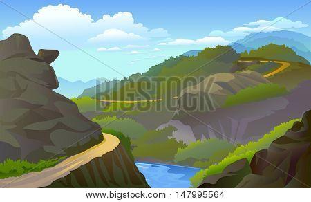 Rocky mountain drive