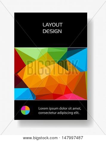 Cover Brochure Poster easy all editable