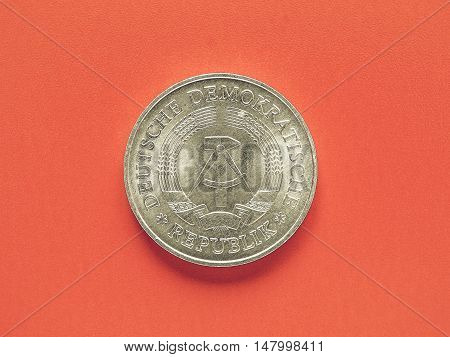 Vintage German Ddr Coin
