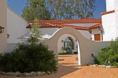 foto of roof tile  - a spanish - JPG