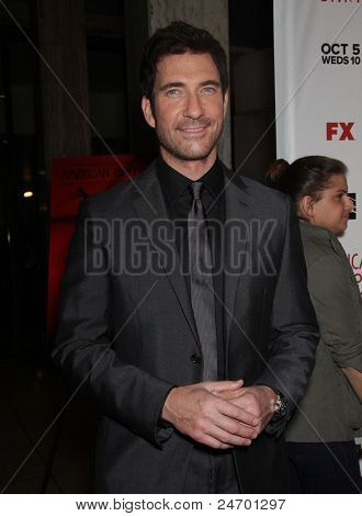 "LOS ANGELES - JAN 16:  Dylan McDermott arrives to the ""American Horror Story"" Los Angeles Premiere  on October 3,2011 in Hollywood, CA"
